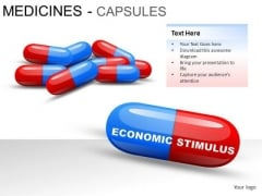 Sickness Medicines Capsules PowerPoint Slides And Ppt Diagram Templates
