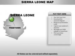 Sierra Leone Country PowerPoint Maps