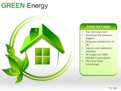 Signs Green Energy PowerPoint Slides And Ppt Diagrams Templates