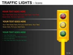 Silhouette Site Traffic Lights PowerPoint Slides And Ppt Diagram Templates