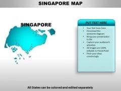 Singapore PowerPoint Maps