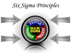 Six Sigma Principles Business PowerPoint Presentation Slides Cc
