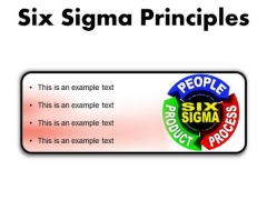 Six Sigma Principles Business PowerPoint Presentation Slides R