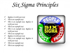 Six Sigma Principles Business PowerPoint Presentation Slides S