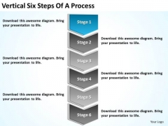 Six Steps Of A Process Ppt Sample Mission Statements For Business Plan PowerPoint Slides