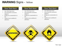 Skeleton Warning Signs PowerPoint Slides And Ppt Diagram Templates