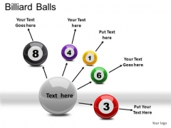Snooker Billiard Balls PowerPoint Slides And Ppt Diagram Templates