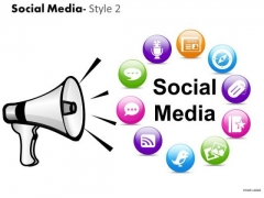 Social Media Icons PowerPoint Slides And Ppt Diagram Templates