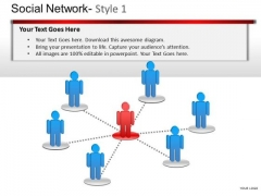 Social Network PowerPoint Presentation Slides And Ppt Templates