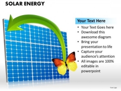 Solar Energy PowerPoint Slides And Solar Panel PowerPoint Templates