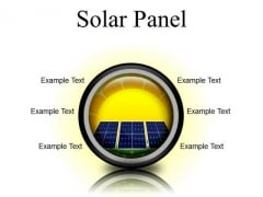 Solar Panel Geographical PowerPoint Presentation Slides Cc