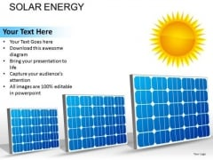 Solar Panels Sun Energy PowerPoint Slides And Ppt Diagram Templates