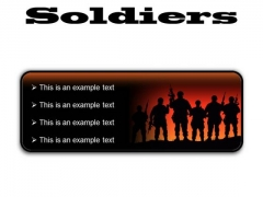 Soldiers Youth PowerPoint Presentation Slides R