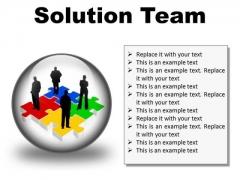 Solution Team Business PowerPoint Presentation Slides C