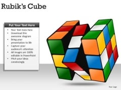 Solve Problem Rubiks Cube PowerPoint Slides And Ppt Diagram Templates