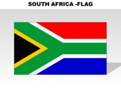 South Africa Country PowerPoint Flags