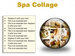 Spa Collage Beauty PowerPoint Presentation Slides C