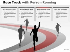 Sports Race Person Running PowerPoint Slides And Ppt Diagram Templates