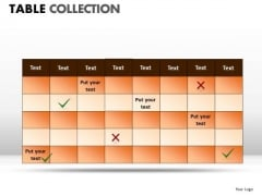 Sports Table Collection PowerPoint Slides And Ppt Diagram Templates