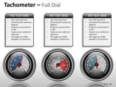 Sports Tachometer Full Dial PowerPoint Slides And Ppt Diagram Templates