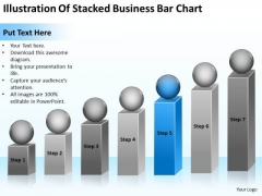 Stacked Business Bar Chart Ppt Professional Plan Template PowerPoint Templates