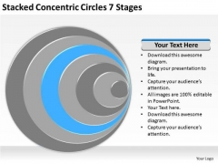 Stacked Concentric Circles 7 Stages Ppt Example Business Plan PowerPoint Slides