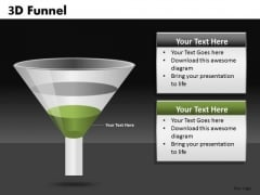 Stage 1 Conversion Funnel Shape PowerPoint Slides Ppt Templates