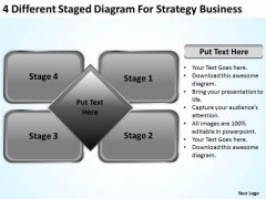 Staged Diagram For Strategy Business Ppt People Who Write Plans PowerPoint Slides