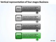 Stages Business PowerPoint Presentation Beauty Salon Plan Templates