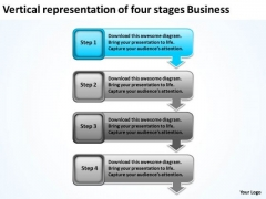 Stages Business PowerPoint Templates Download It Plan