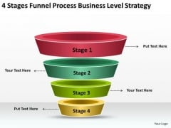 Stages Funnel Process Business Strategy Execution Ppt Ecommerce Plan PowerPoint Slides