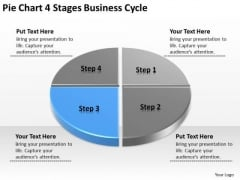 Stages New Business PowerPoint Presentation Cycle Plan Templates