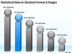 Statisctical Data In Stacked Format 6 Stages Ppt Business Plan Non Profit PowerPoint Slides