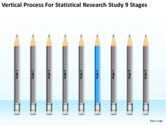 Statisctical Research Study 9 Stages Ppt Basic Business Plan Template PowerPoint Slides