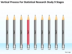 Statisctical Research Study 9 Stages Ppt Business Plan Restaurant PowerPoint Slides