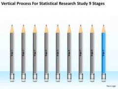 Statisctical Research Study 9 Stages Ppt Non Profit Business Plan PowerPoint Templates