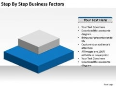 Step By Business Factors Ppt 1 Basic Plan PowerPoint Templates