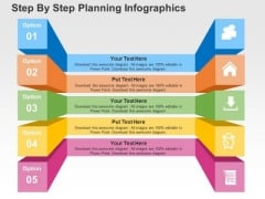 Step By Step Planning Infographics PowerPoint Templates