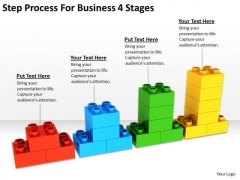 Step Process For Business 4 Stages Ppt Proposal Plan PowerPoint Templates