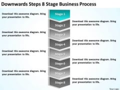 Steps 8 Stage Business Process Ppt Plan Template PowerPoint Templates