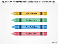 Steps Business Development Ppt Plans For Non Profit Organizations PowerPoint Templates