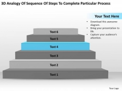 Steps To Complete Particular Process Ppt Mini Business Plan Template PowerPoint Templates