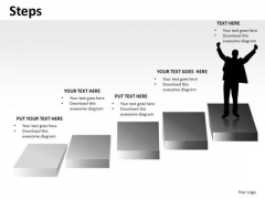 Steps To Success PowerPoint Slides Ppt Templates