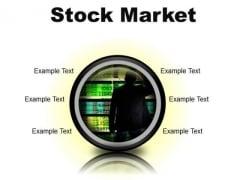 Stock Market Business PowerPoint Presentation Slides Cc