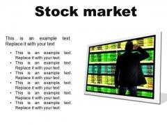 Stock Market Business PowerPoint Presentation Slides F