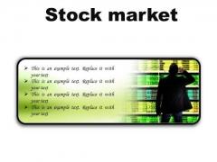 Stock Market Business PowerPoint Presentation Slides R