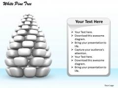 Stock Photo 3d Image Of Grey Pine Tree PowerPoint Slide