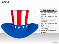 Stock Photo 3d Irish Hat For Festive Celebration PowerPoint Slide