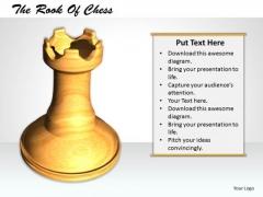 Stock Photo 3d White Chess Elephant PowerPoint Slide