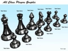 Stock Photo All Chess Players Graphic PowerPoint Template